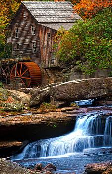 Randall Branham - Portrait Glade Creek Grist Mill