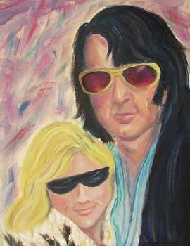 Suzanne  Marie Leclair - Portrait of a couple