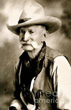 Gwyn Newcombe - Portrait of a Cowboy