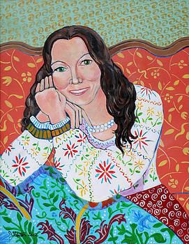 Portrait of Kim by John Keaton