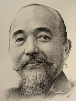 Portrait of Thailand Artist by Supot Pimpan