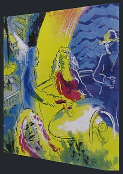 Positano Balcony by Walter Clark