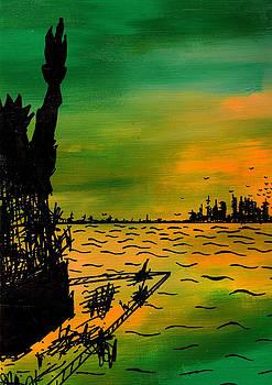 Jera Sky - Post Apocalyptic New York Skyline