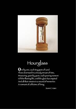 Poster Poem - Hourglass by Poetic Expressions