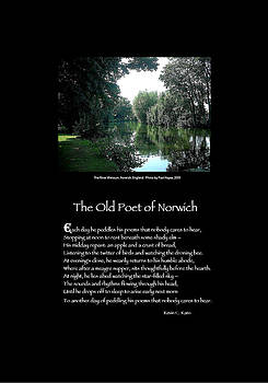 Poster Poem - The Old Poet of Norwich by Poetic Expressions