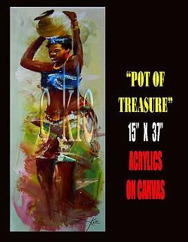 Pot Of Tresure by Clement Martey