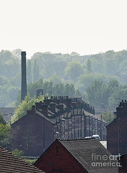 Potteries Urban landscape by Andrew  Michael