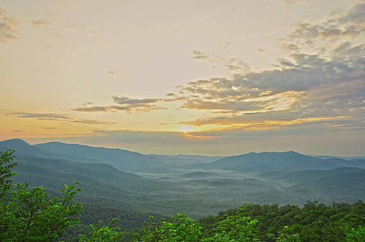 Pounding Mill Overlook by Donnie Smith