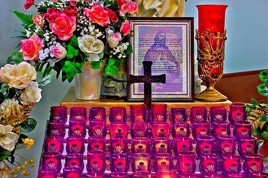 Prayer Candles by Myrna Migala