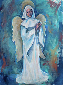 Praying Angel by Mary DuCharme
