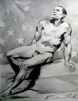 President Barack Obama Nude Study by Karine Percheron-Daniels