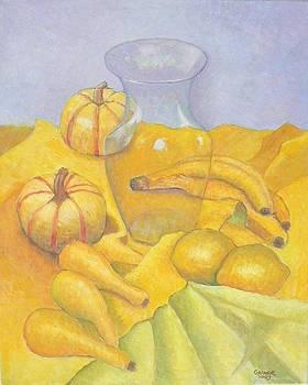 Primary Series - Yellow by Gainor Roberts