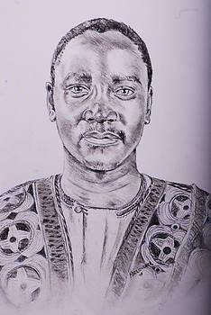 Prince Gabula Of Busoga by Mayanja Richard weazher