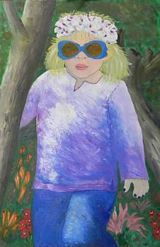 Princess Lilikoi in the Rainforest by Ernie Goldberg