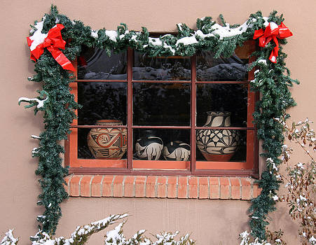 Elizabeth Rose - Pueblo Pottery Winter Window