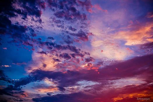 Bonnes Eyes Fine Art Photography - Purple Blues