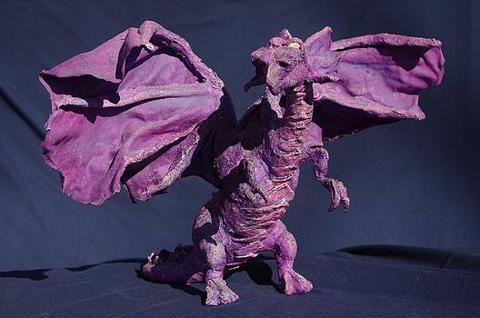 Purple Dragon by Rick Ahlvers