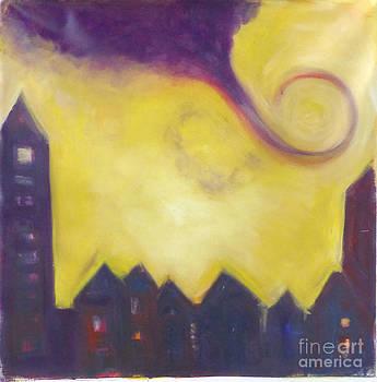 Purple East by Tali Farchi