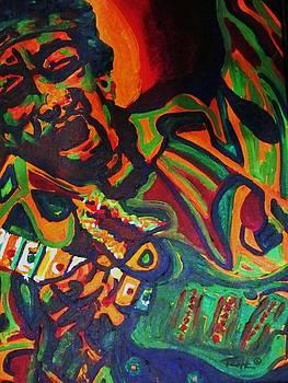 Purple Haze by Ax Fine Arts  Prints On Demand