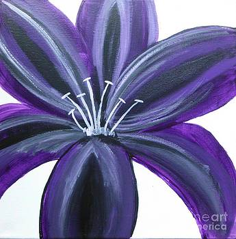 Purple Lily by Dawn Plyler