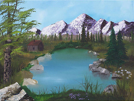 Purple Majesty by John Minarcik