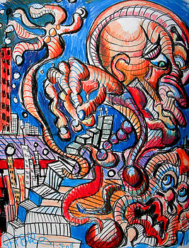 Jon Baldwin  Art - Push Over