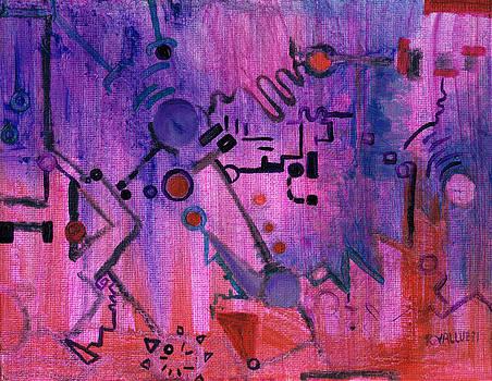 Regina Valluzzi - Puzzle in Purple