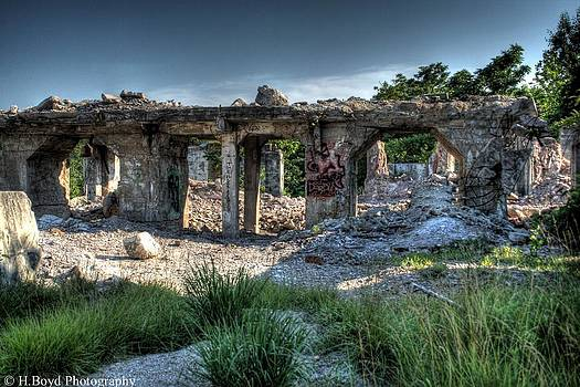 Quarry Ruins by Heather  Boyd
