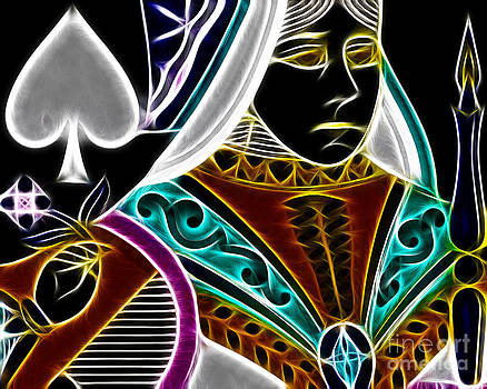 Wingsdomain Art and Photography - Queen of Spades - v4