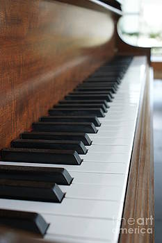 Quiet Piano Keys by Sherry Vance