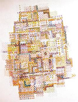 Quilt drawing by Irma   OSTROFF