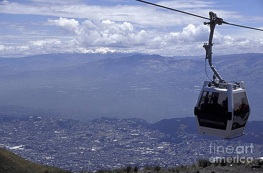 John  Mitchell - QUITO AERIAL TRAM South America