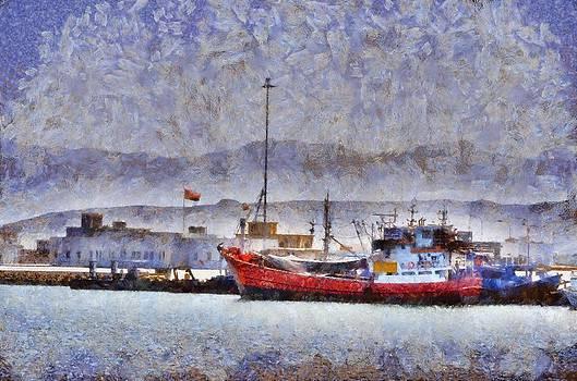Quriyat Corniche by Balram Panikkaserry