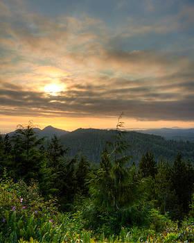 Matt Dobson - Radar Hill Sunset - Tofino BC Canada
