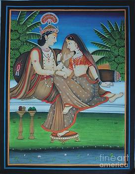 Radha-krishan  by Ravi Kumar