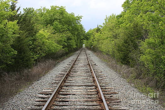 Railroad Tracks by Jerry Bunger