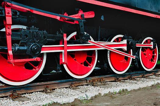 Johnny Sandaire - RailRoad wheels
