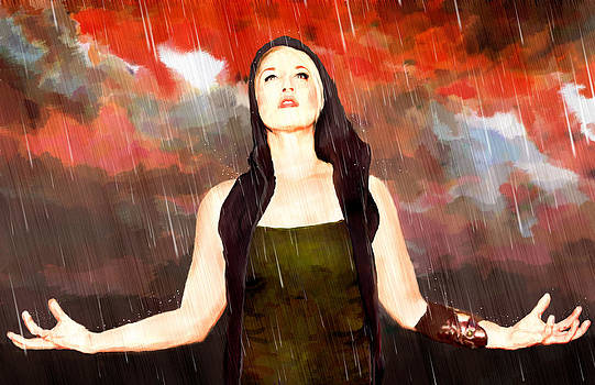 Rain Drain by Louie Villa
