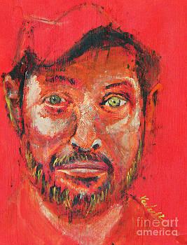 Rainbow Jack en Rojo by John Keasler