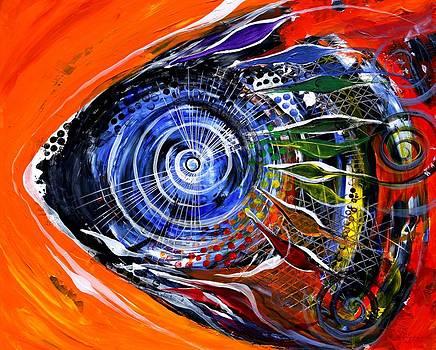 Rainbow Left ... Again by J Vincent Scarpace