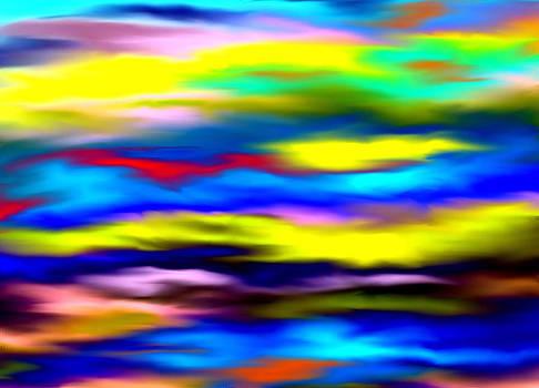 Rainbow Sky by Karen Conine