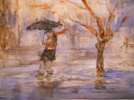Rainy Day by Viorica Stampfel