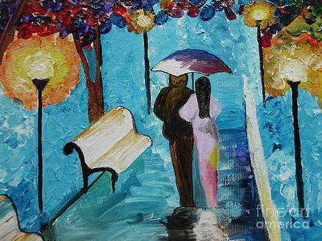 Rainy walk by Dawn Plyler