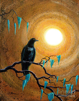 Laura Iverson - Raven in Dark Autumn