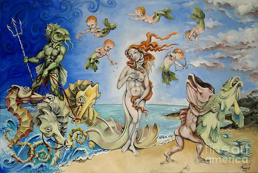 Re-Birth Of Venus by Ellen Marcus