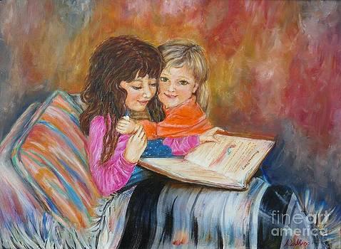 Reading Blanket 2 by Sharon Wilkens