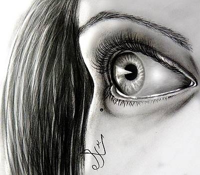 Realistic Eye by Sarah Badr