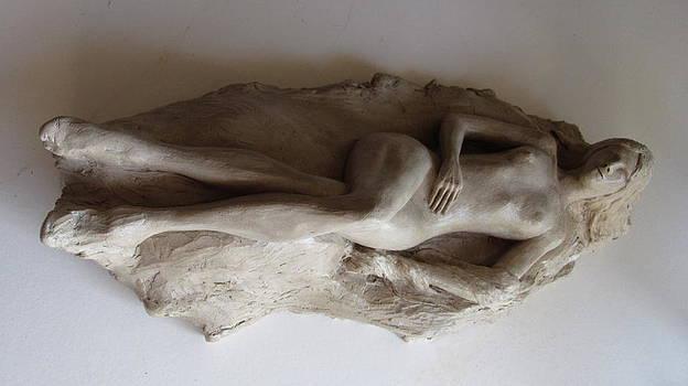 Reclining Nude by Herschel Pollard