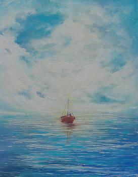 Red Boat by Celeste Nagy