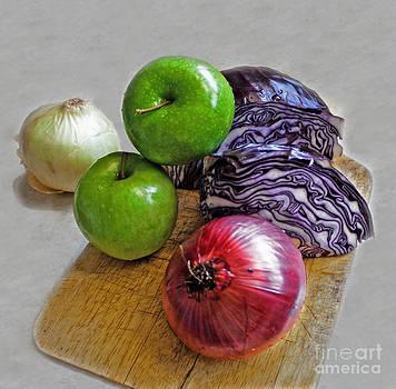 Barbara McMahon - Red Cabbage Salad Undone